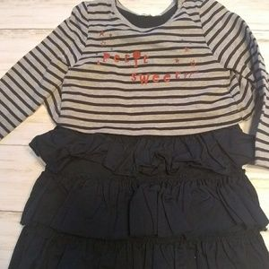 3Pommes striped blue 18-24 month dress